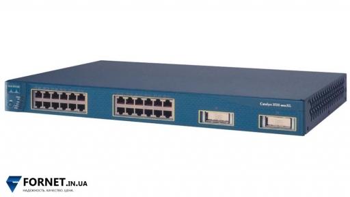 Коммутатор Cisco Catalyst WS-C3550-24-SMI (Layer 3, 24x RJ-45, 2x GBIC)