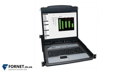 КВМ-переключатель 8-портовый Tripp Lite NetDirector B020-U08-19-K 1U