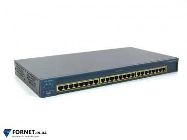 Коммутатор Cisco Catalyst WS-C2950-24 (Layer 2, 24x RJ-45)
