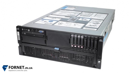 Сервер HP ProLiant DL580 G5 (2x Xeon E7340 2.40GHz / FB-DIMM 16Gb / 2x 147GB / 2PSU)
