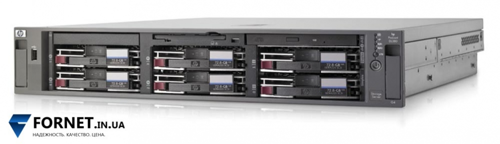 Сервер HP ProLiant DL380 G4 (1x Xeon 3.40 GHz / DDR II 2Gb / 2x 73GB SCSI / 2PSU)