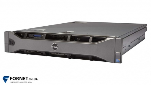 Сервер Dell PowerEdge R710 (2x Xeon E5620 2.40GHz / DDR III 24Gb / 2x 147GB SAS / 2PSU)