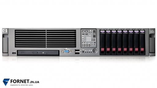 Сервер HP ProLiant DL380 G5 (2x Xeon E5430 2.66GHz / FB-DIMM 16Gb / 2x 147GB / 2PSU)