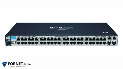 Коммутатор HP ProCurve Switch 2510-48 (J9020A / Layer 2, 48x RJ-45, 2x Gigabit Combo)