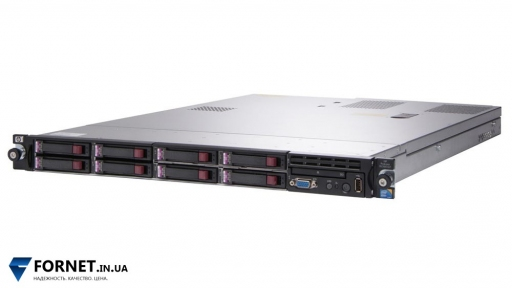 Сервер HP ProLiant DL360 G7 (2x Xeon X5650 2.66GHz / DDR III 64Gb / 2x 147GB SAS / P410i / 2PSU)