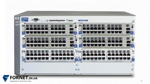 Коммутатор HP ProCurve Switch 4108GL (J4865A + 4xJ4908A + 2xJ4862B / Layer 2, 128x Gigabit RJ-45, 8x Gigabit SFP)