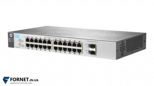 Коммутатор HP ProCurve Switch 1810-24G (J9803A / Layer 2, 24x Gigabit RJ-45, 2x Gigabit SFP)