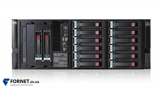 Сервер HP ProLiant DL370 G6 (2x Xeon E5606 2.13GHz / DDR III 12Gb / 2x 73GB / 2PSU)