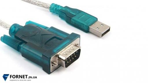 Кабель-переходник USB - RS232 DB9 COM (Male / 1 м.)