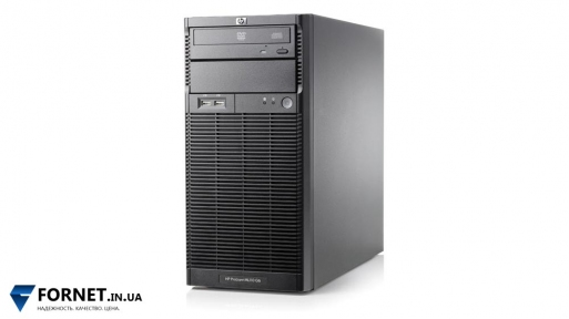 Сервер HP ProLiant ML110 G6 (1x Xeon X3430 2.4GHz / DDR III 8Gb / 2x 250GB SATA / 1PSU)