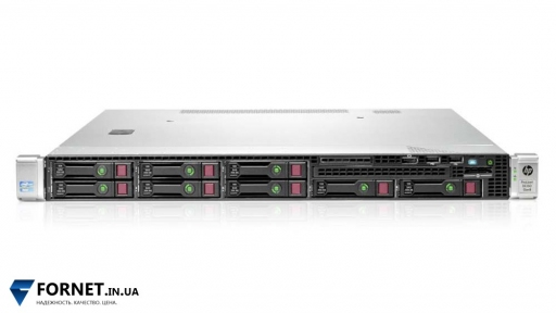 Сервер HPProLiantDL160pGen8 (2x Xeon Hexa E5-2620 2.0GHz / DDR III 64Gb / 8 HDD 2.5