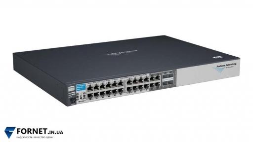 Коммутатор HP ProCurve Switch 2810-24G(J9021A / Layer 2, 20x Gigabit RJ-45, 4x Gigabit Combo)