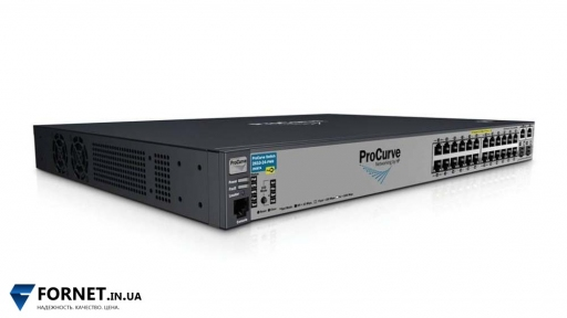 Коммутатор HP ProCurve Switch 2610-24-PWR (J9087A / Layer 2, 24x RJ-45 PoE, 2x Gigabit Combo)