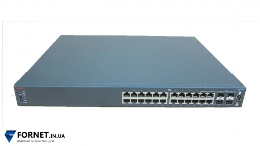 Коммутатор Avaya Ethernet Switch 4524GT (Layer 3, 24x Gigabit RJ-45, 4x Gigabit SFP)