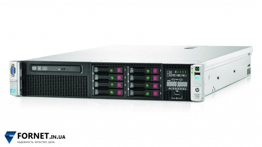 Сервер HP Proliant DL380p Gen8 (2x Xeon Eight E5-2670 2.6GHz / DDR III 128Gb / 2x 300GB SAS / P420 / 2PSU)