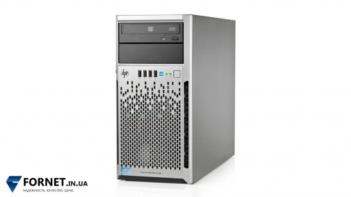 Сервер HP Proliant ML310e Gen8 (Core i3-3220 3.3GHz / DDR III 8Gb / 1x 500Gb SATA / 1PSU)