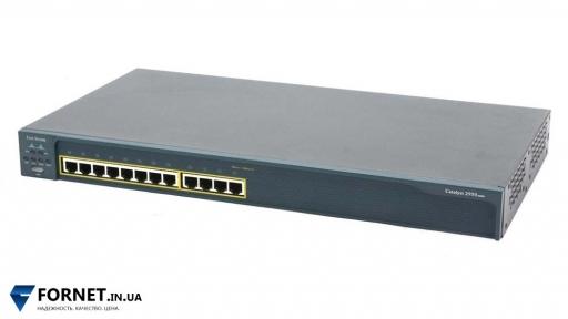 Коммутатор Cisco Catalyst WS-C2950-12 (Layer 2, 12x RJ-45)
