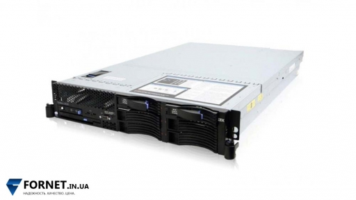 Сервер IBM X3650 M1 (2x Xeon E5345 2.33GHz / DDR II 16Gb / 2x 147Gb SAS / 2PSU)