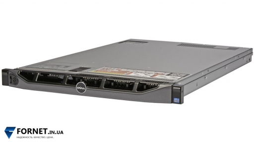 Сервер Dell PowerEdge R620 (2x Xeon Eight E5-2640v2 2.00GHz / DDR III 64Gb / 2x 147GB SAS / 2PSU)
