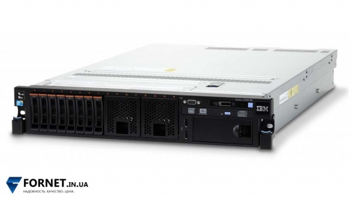Сервер IBM X3650 M4 (2x Xeon E5-2670 2.6GHz / DDR III 128Gb / 2x 147GB SAS / 2PSU)