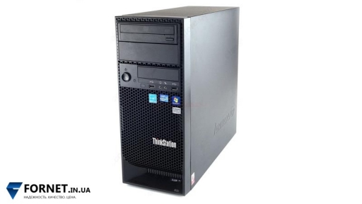 Рабочая станция LENOVO ThinkStation S30 (Xeon E5-1607 3.0Ghz / DDR III 24Gb / 250Gb SATA / QUADRO 4000 2Gb) + Windows 7 Pro