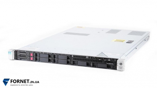 Сервер HP Proliant DL360e Gen8 (2x Xeon Eight E5-2450L 1.8GHz / DDR III 48Gb / 2PSU)