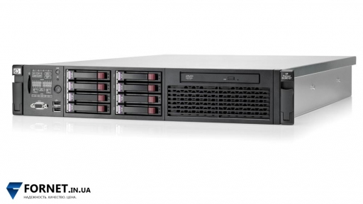 Сервер HP ProLiant DL380 G7 (2x Xeon E5620 2.4GHz / DDR III 24Gb / 2x 147GB SAS / P410i / 2PSU)