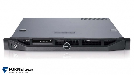 Сервер Dell PowerEdge R210 (1x Xeon X3430 2.40GHz / DDR III 8Gb / 1PSU) - Глубина 40 см!