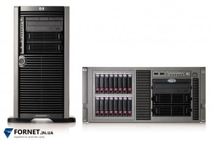 Сервер HP ProLiant ML370 G5 (2x Xeon E5430 2.66GHz / FB-DIMM 16Gb / 2x 147GB SAS / 2PSU)
