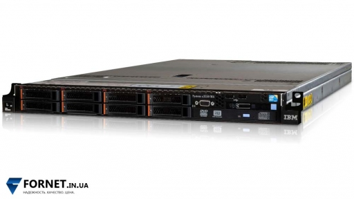 Сервер IBM X3550 M4 (2x Xeon E5-2670 2.6GHz / DDR III 64Gb / 2x 147Gb SAS / 2PSU)