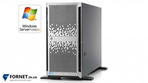 Сервер HP Proliant ML350p Gen8 (2x Xeon E5-2670 2.6GHz / DDR III 128Gb / 2x 147GB / P420 2Gb / 2PSU)