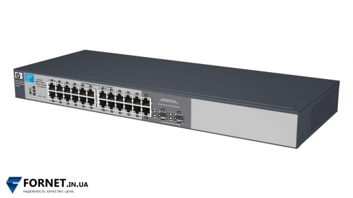 Коммутатор HP ProCurve Switch 1810G-24 (J9450A / Layer 2, 22x Gigabit RJ-45, 2x Gigabit Combo)
