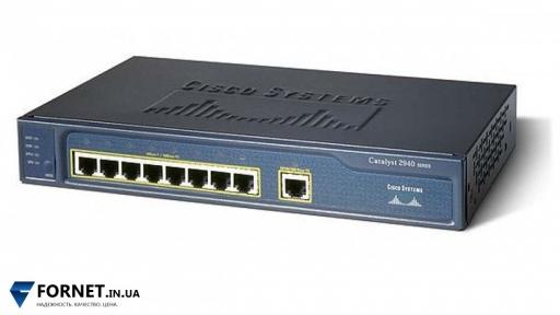Коммутатор Cisco Catalyst WS-C2940-8TT-S (Layer 2, 8x RJ-45, 1x Gigabit RJ-45)
