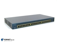 Коммутатор Cisco Catalyst WS-C2950-24 (Layer 2, 24x RJ-45)