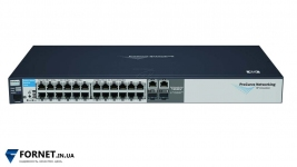 Коммутатор HP ProCurve Switch 2510-24 (J9019B / Layer 2, 24x RJ-45, 2x Gigabit Combo)