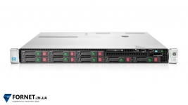 Сервер HP Proliant DL360p Gen8 (2x Xeon Hexa E5-2640v2 2.50GHz / DDR III 64Gb / 2x 147GB SAS / P420 / 2PSU)