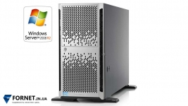 Сервер HP Proliant ML350p Gen8 (2x Xeon E5-2670 2.6GHz / DDR III 128Gb / 2x 147GB / P420 2Gb / 2PSU)