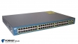 Коммутатор Cisco Catalyst WS-C3560-48TS-S (Layer 3, 48x RJ-45, 4x Gigabit SFP)